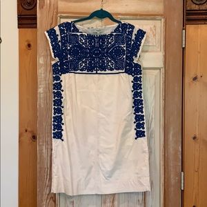 Madewell embroidered summer shift.